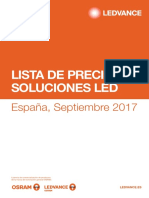201709 Ledvance Lista de Precios Base Al Comercio Septiembre 2017