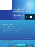 c Packet Optimized Transport Market Analysis by Jr Due