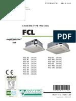Aermec FCL 32-124 Technical Manual Eng