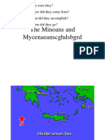 Minoans and Mycenaeans.ppt
