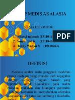 KONSEP MEDIS AKALASIA
