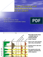 Impacts of Climate Change and Sea Level Rise in Peninsular Florida – Can We Adapt