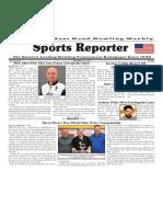 September 6 - 12, 2017  Sports Reporter