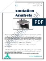 Foundation Analysis_COURSE CONTENT