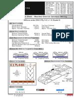 BMG 600BW Class 250-2 Ply Chevron Belt Datasheet