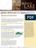 Fall 2009 Sebago Lake Watershed Newsletter
