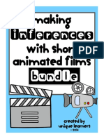 Making Inferences With Short Animated Films Bundle
