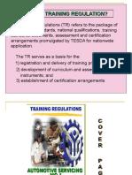 Training Regulation
