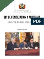 Ley de Conciliacion y Arbitraje