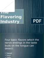 The Flavoring Industry
