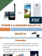 Iphone5 y Samsung