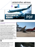 Top 10 Catástrofes Aéreas