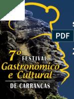 7º Festival Gastronomico e Cultural de Carrancas 2017