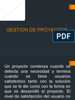 Gestion de Proyectos