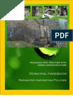 EPA Rainwater Harvesting Manual