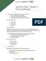 TnL CA Economic Survey 2016-17 Question Bank - Volume 1 - Complete.pdf