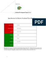 SP-2202 Specification for Electric overhead Traveling Cranes.docx