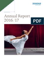 01 Sonova Annual Report 2016 17 Full En