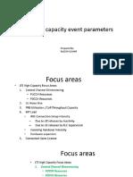 Lte High Capacity Event Parameters - Ericsson