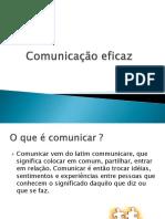 Comunicação eficaz