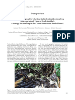 Montanarin_et_al. 2017. First Record of Aggregative Behaviour in the Territorial Poison Frog Ameerega Hahneli a Strategy for Surviving in the Central Amazonian Flooded Fores