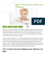 Endocrine Disruptors_ What Women Need to Avoid to Protect Their Hormones