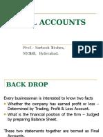 Trading, Profit & Loss Acct.s