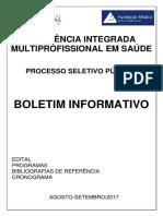 Edital RIS HCPA 2018