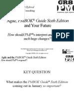 PMI-SWVA_Agile, PMBOK 6th &Amp; PMPs_Stenbeck