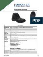 Ficha Tecnica Uniroca Bota Fenix Ref 5022236506