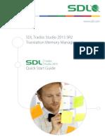 Translation Memory Management QSG En Version