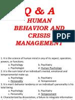 CRIMINAL SOCIOLOGY  Human Behavior