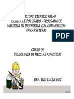MEZCLAS ASFALTICAS CLASE 1