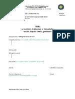 Anexa 1a Tema Proiect Diploma