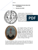 Simbolos de La Unversidad de San Carlos de Guatemala