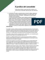 CONCEBIDO Derecho Civil i