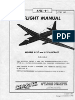 Flight Manual Lockheed U-2