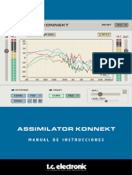Tcelectronic Assimilator Konnekt Spanish