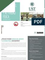 Ciencias Del Deporte y Actividad Fisica Ust 21092016
