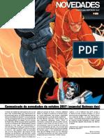 Proximas Novedades ECC - Octubre - Batman Day