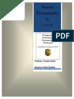 Trabajo Nuevo Testamento II