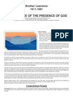 brother lawrence 1611-1691 practicing the presence of god