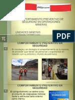 Comportamiento Preventivo en Seguridad- Operaciones Mineras