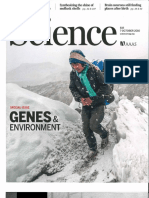 Genes and Environment Oct 2016