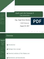 Ciencias de la Vida y de la Tierra II - El periodo Hadeano