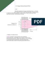 Design of Machine Elements Homework