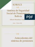 ley de pensiones 065 bolivia