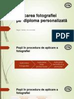 Aplicarea Pozei Pe Diploma