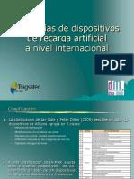 Ejemplos de recarga artificial de acuiferos