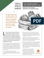 Cornucopia DIY Farmers Market Guide